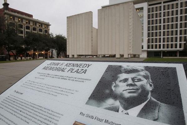 John F. Kennedy Memorial Plaza in Texas